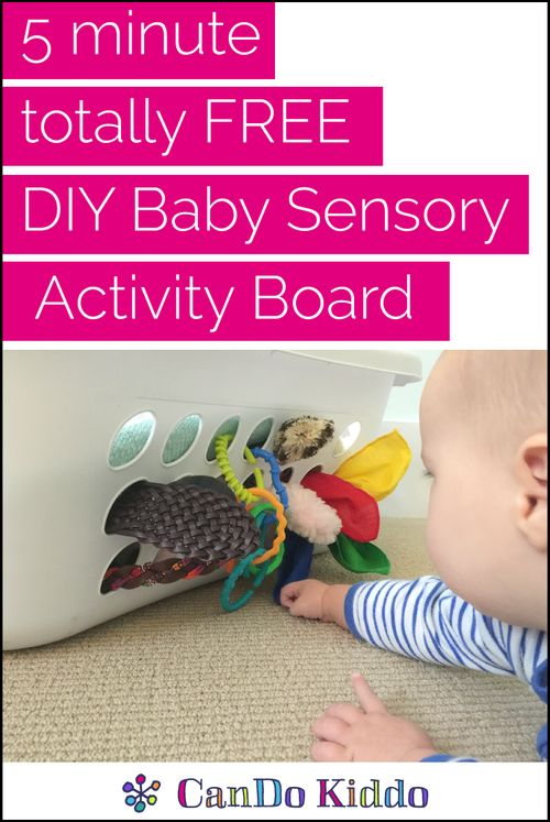 Not another Pinterest project you'll never get around to. This one is totally doable for new parents and loads of developmental fun for babies from Tummy Time to standing. Baby play & development tips from a pediatric Occupational Therapist. CanDoKiddo.com