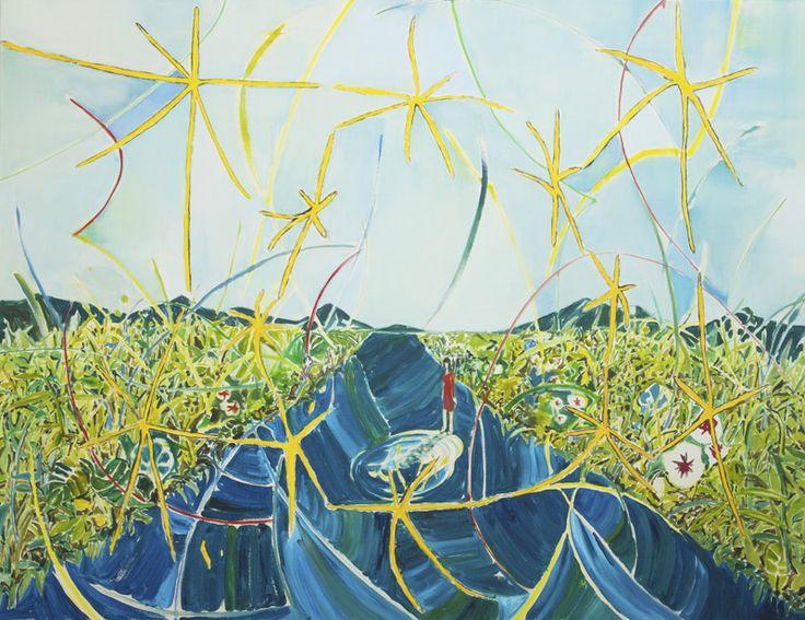 "Yuki Ota ""Piece of life (Ⅱ)"" 2014 oil on canvas 112.0×.145.5cm #painting #art #contemporary"