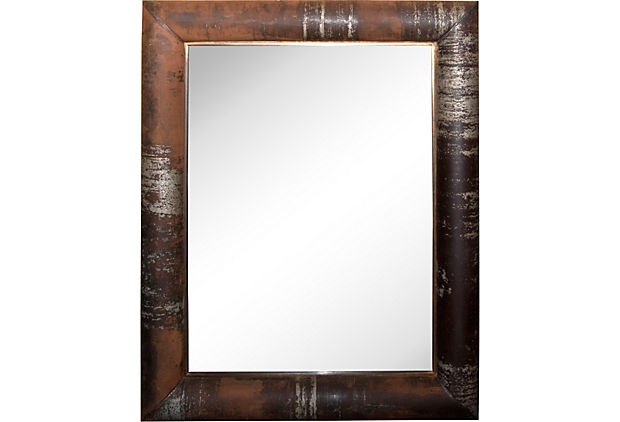 Midcentury   Iron Mirror on OneKingsLane.com