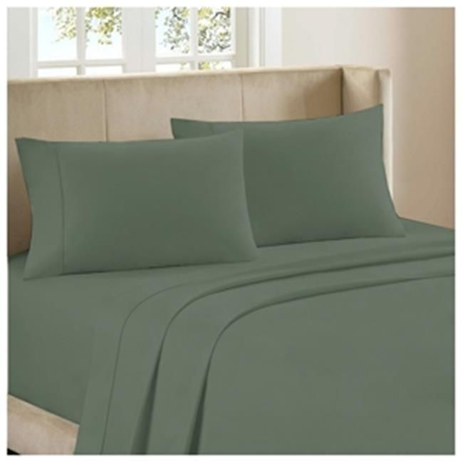 Bedclothes Luxury 4 Piece Bamboo Comfort Bedding Sheet Set Sage