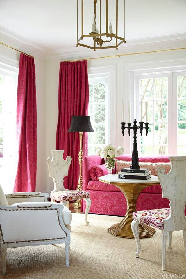 1000 Images About Pink Coral Blush On Pinterest Pink Walls Pink Living Rooms And Pink