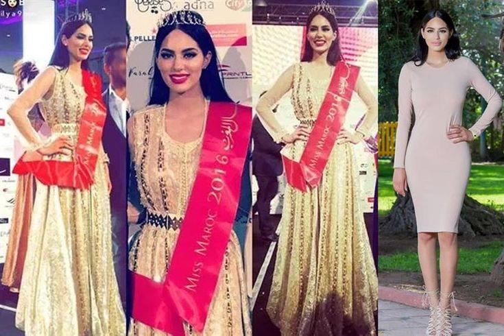 Sara Belkziz crowned as Miss Morocco 2016