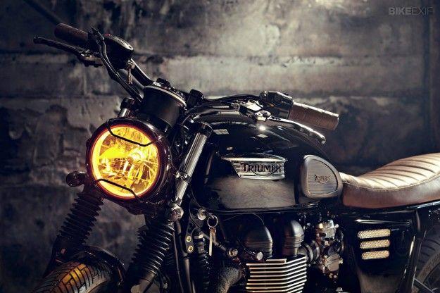 Triumph Bonneville T100 by Bunker   Bike EXIF