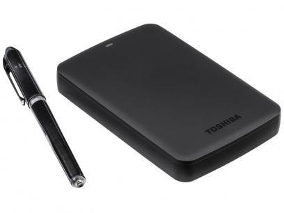 HD Externo 2TB Toshiba CanvioBasics 3.0 - USB 3.0 com as melhores condições você encontra no Magazine Ubiratancosta. Confira!