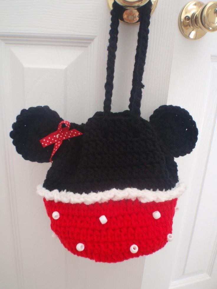 Hermosa Patrón De Crochet Para Minnie Traje De Ratón Ideas - Manta ...