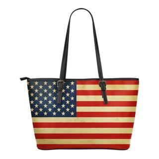 USA Flag Tote Bag - Hi Siena