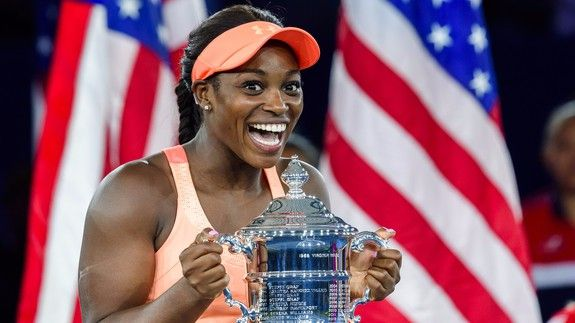 Sloane Stephens just won a lot of money at the U.S. Open but her reaction is priceless