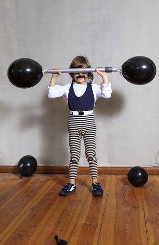 Halloween Costume: Weightlifter...