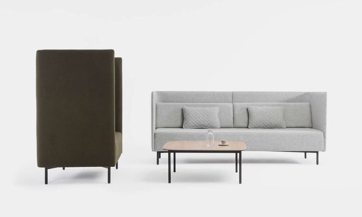The Navigate Low Back - Ideal for commercial applications, the single, 2 or 3 seater Navigate sections can be arranged together to create semi private meeting spaces within an open environment.