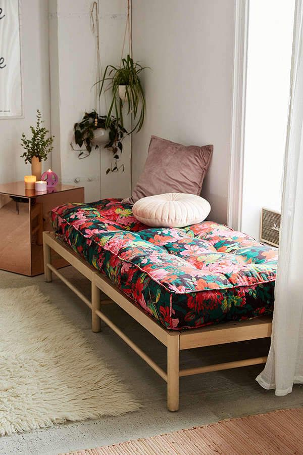 Urban Outfitters Vera Floral Daybed Cushion|| these day beds are life  #ad