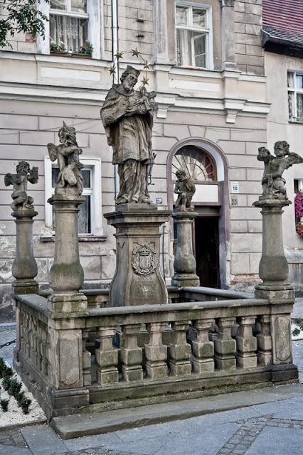 statue of St. John of Nepomuk, Klodzko, Poland