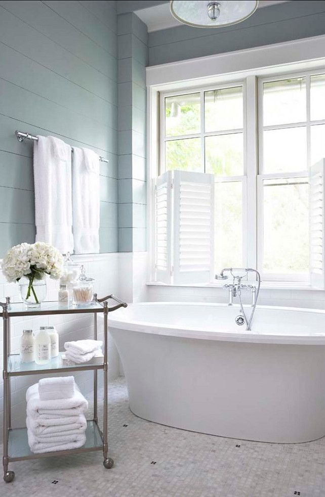 bathroom paint color sherwin williams sw7621 silvermist. Black Bedroom Furniture Sets. Home Design Ideas