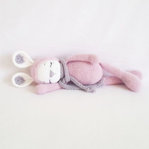 Amigurumi Sleeping Bunny : 619 best images about Toyknit-crochet on Pinterest ...