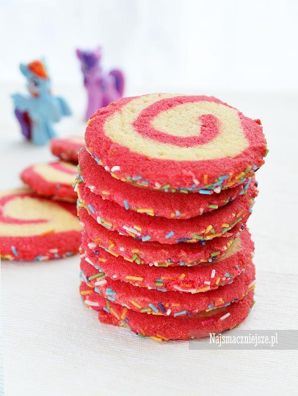 Zakręcone ciasteczka maślane #przepis #ciasteczka #najsmaczniejsze