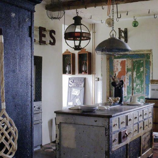 Πως Να Συνδυάσεις Το Vintage Με Το Βιομηχανικό Στυλ Στη Διακόσμηση Του Σπιτιού / Vintage And Industrial Interiors