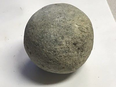 #F5 KILLER HUGE STONE GAME BALL / HAMMERSTONE FROM TRIGG COUNTY KENTUCKY