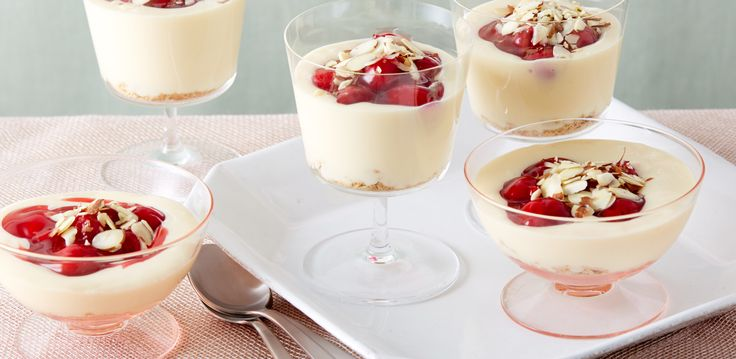 Cherry Cheesecake Shooters By Ree Drummond