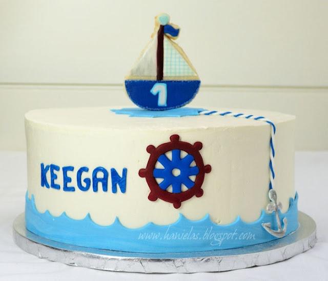 Best 25+ Nautical Birthday Cakes Ideas On Pinterest