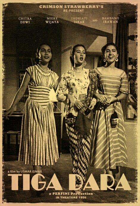 Film TIGA DARA (1956) Director : Usmar Ismail
