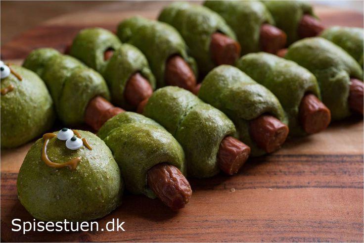 Skønne grønne pølsehorn til store og små med masser af spinat i dejen. Jeg har…