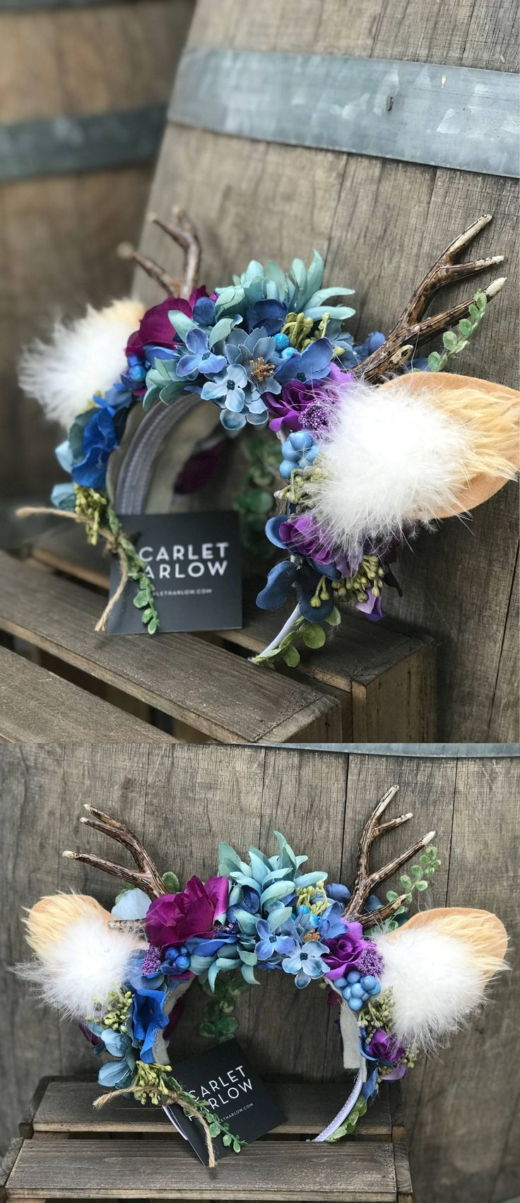 how to make deer antlers for halloween
