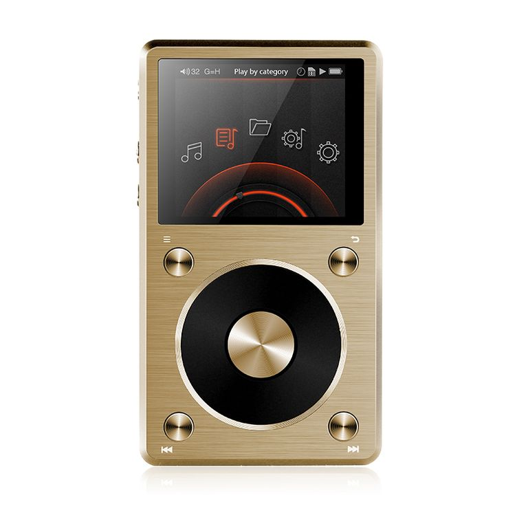 Fiio x5 segunda gen hi res reproductor de música, 192 K BITS, Soporte Nativo DSD, Salida de alta Potencia en Reproductores MP3 para Automóvil de Automóviles y Motocicletas en AliExpress.com | Alibaba Group