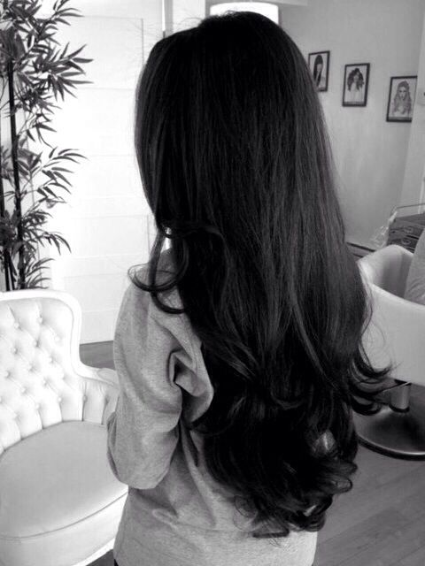 Seriously my hair will be this long. Eventually.                                                                                                                                                                                 More