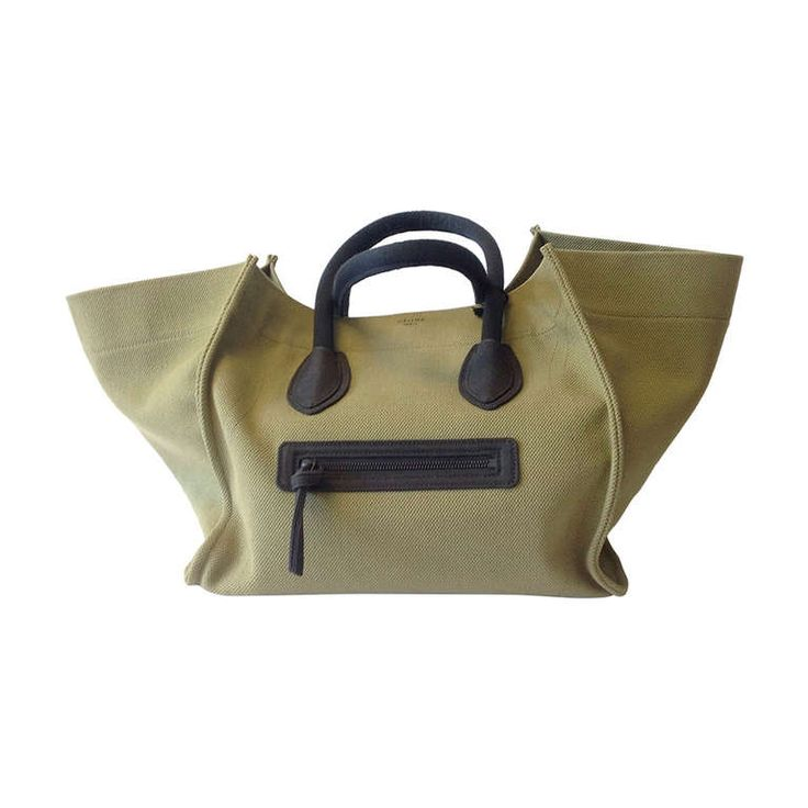celine canvas boston bag