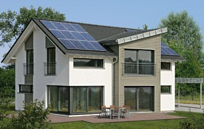 Erlangen Solar Energy Kit House By Fertighaus WEISS