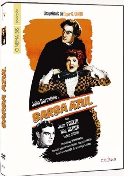 DVD CINE 1979 - Barba Azul (1944) EEUU. Dir.: Edgar G. Ulmer. Terror. Serie B. Sinopse: un perigoso asasino, alcumado Barba Azul, ten aterrorizados aos habitantes de París. Lucille, unha costureira coñece a Gaston Morrell, un monicrequeiro que lle ofrecerá traballo no seu espectáculo de marionetas. A chegada de Lucille á compañía provocará os inevitables celos de Renee, a amante de Gaston. O que ningunha das dúas coñece é que Gaston posúe unha cara oculta que desexarían non coñecer xamais.