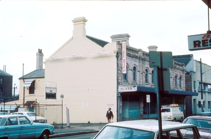 1977- 1980 458 King Street, Newtown.Gartrell White Pty Ltd fronted King Street and covred the block to Angel Street.