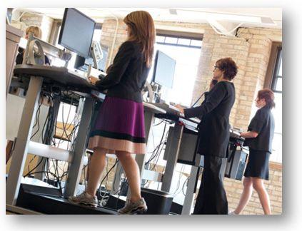 Wandel door je werk met een treadmill desk - Lifehacking