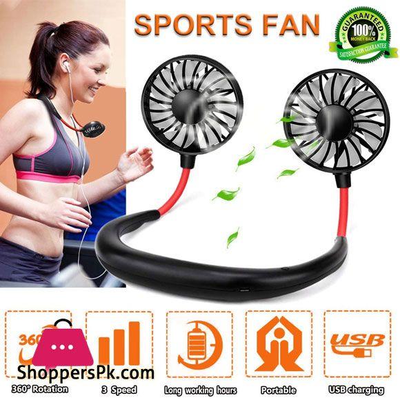 Buy Neck Fans Mini Portable Outdoor Fan Personal Fan Usb Battery Operated Rechargeable Neckband Fan At Best Price In Pakistan Personal Fan Outdoor Fan Fan Price