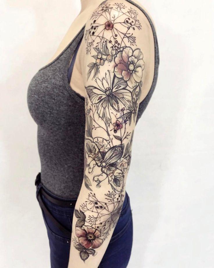 "Polubienia: 30, komentarze: 1 – Magdalena Pliszka (@pliszkamagdalena) na Instagramie: ""Next part #tattooistartmag #tattrx #equilattera #thebesttattooartists #sketchypaints…"""
