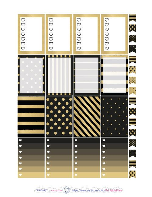 Printable planner stickers.This is a weekly kit of stickers designed for the Happy Planner vertical clasic. However you can use this weekly kit in other planners like Erin Condren Life planner, personal planners, A5, Kikki K, the Big Mambi Happy Planner, Mini Happy Planner etc. All planner stickers artwork is made in Adobe Illustrator after my sketches.This type of digital artwork is called vector meaning my designs are of the highest most crystal clear quality. This is a...