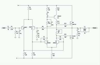 1KW V MOSFET   Audio amplifier  Audio  Dc circuit