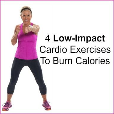 Low-impact does NOT mean low-intensity....There ARE low-impact moves that will drive your heart rate up and give you the workout you need.