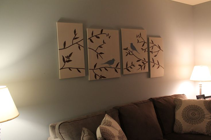 Easy Canvas Painting Ideas Diy Wall Art For Your Living