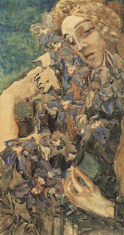 Mikhail Vrubel - Primavera, 1897