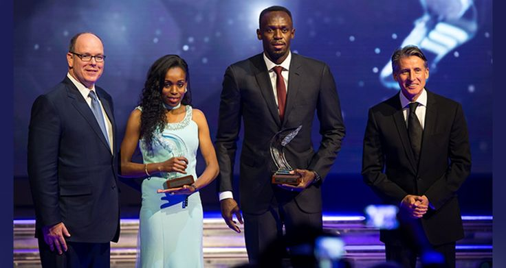 Jamaica's Usain Bolt and Ethiopia's Almaz Ayana have been named the male and female World Athletes of the Year  The 2016 IAAF World Athletes of the Year Almaz Ayana and Usain Bolt with HSH Prince Albert II of Monaco and IAAF President Sebastian Coe (Philippe Fitte / IAAF) © Copyright - See more at: http://ecadforum.com/2016/12/02/ethiopia-almaz-ayana-and-usain-bolt-crowned-2016-world-athletes-of-the-year/#sthash.g4OP2xvv.dpuf