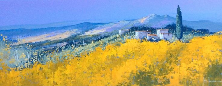Mountain Views in Provence by John Horsewell available at www.imagesinframes.com #fineart #walthamstow