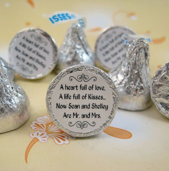 Hershey Kisses Label Sticker Change Labels To Valentine Sayings