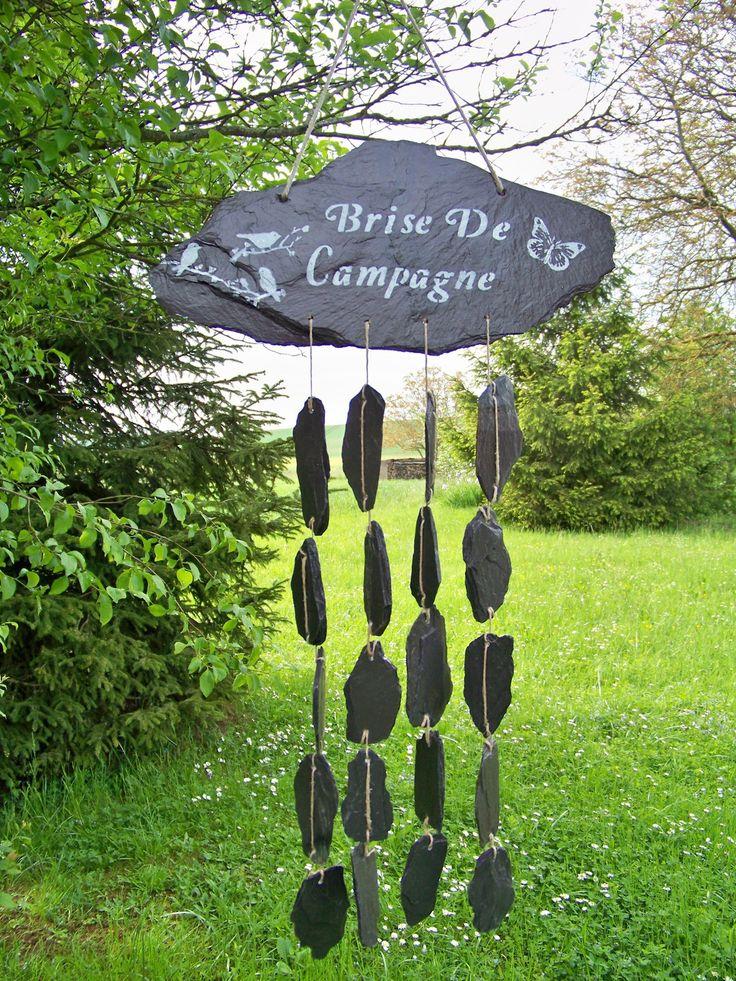 """carillon de jardin """"brise de campagne """" : Accessoires de maison par troglodyte-mignon"""