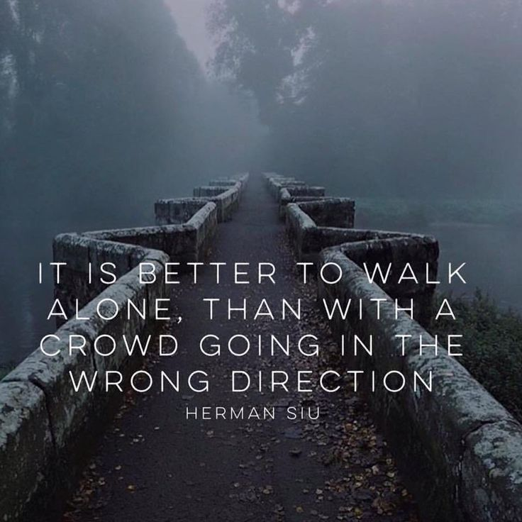 IT IS BETTER TO WALK
