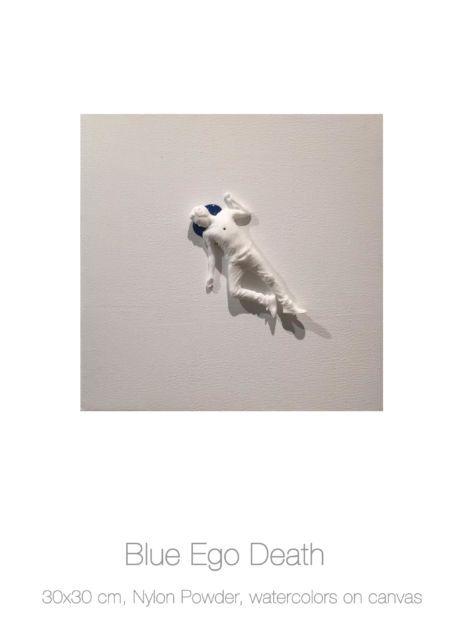 Actor on Canvas - Blue Ego Death, Federico Clapis