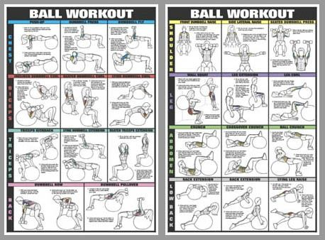 Exercise Ball Routine