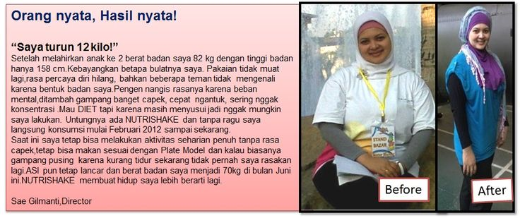 Testimoni NUTRISHAKE Oriflame. Feel Great Look Great!