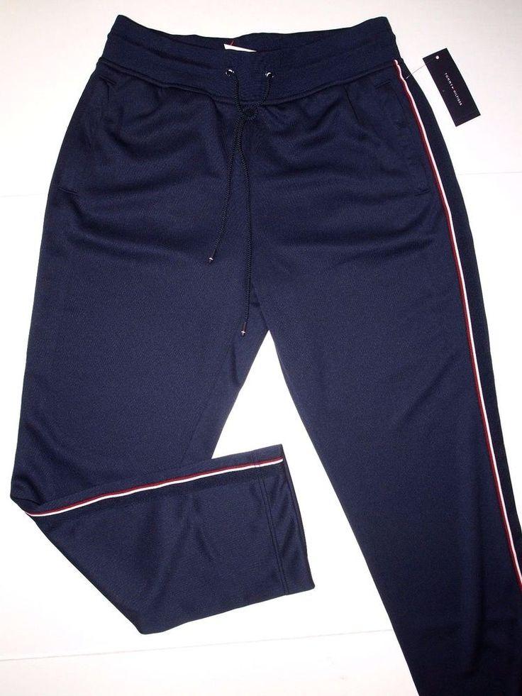tommy hilfiger athletic track pants size medium nwt msrp. Black Bedroom Furniture Sets. Home Design Ideas