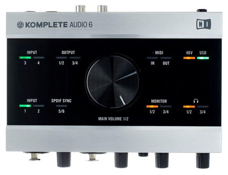 € 229 Native Instruments Komplete Audio 6 - Thomann Nederland