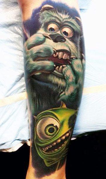 Realism Movies Tattoo by Nikko Hurtado | Tattoo No. 8503